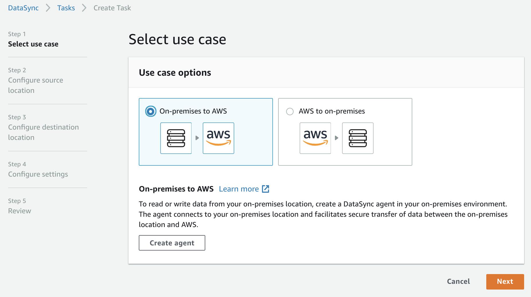 Getting started with AWS DataSync - Jon Fautley's Blog